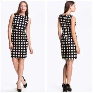 Kate Spade B&W Check Dress Size 12